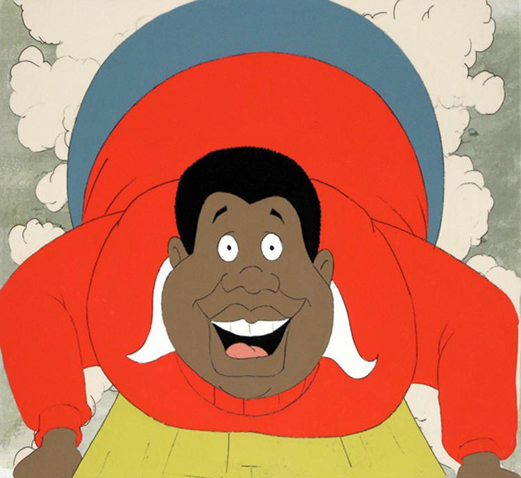 Fat albert cartoon characters