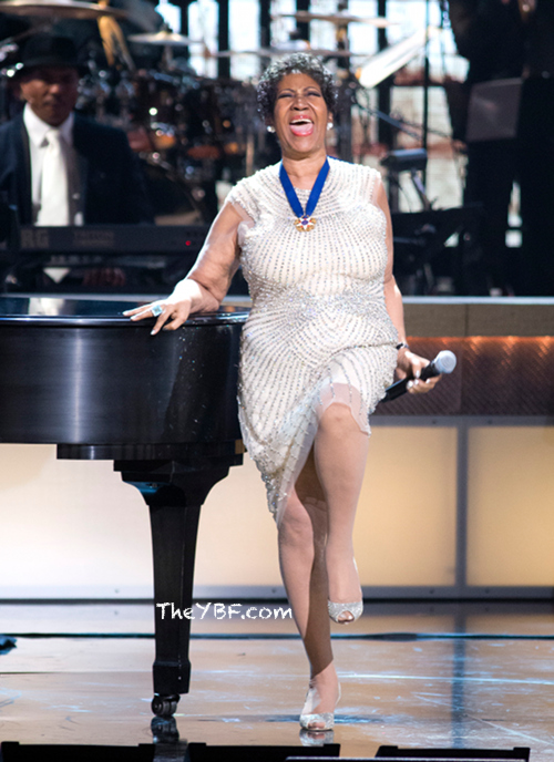 Aretha Franklin BET