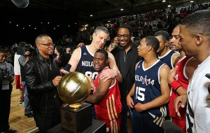 Arne Duncan, Kevin Hart, Celebrity All Star, New Orleans, MVP