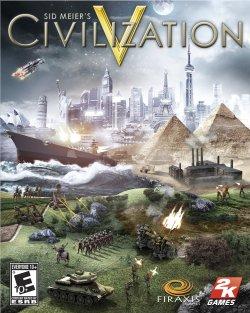 CIVILIZATION V FRONT OF BOX