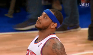 Carmelo Anthony, Knicks, New York, MSG, NBA
