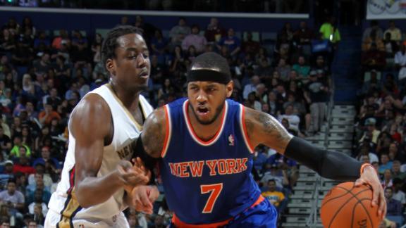 Carmelo Anthony, Knicks, Pelicans, NBA, All-Star