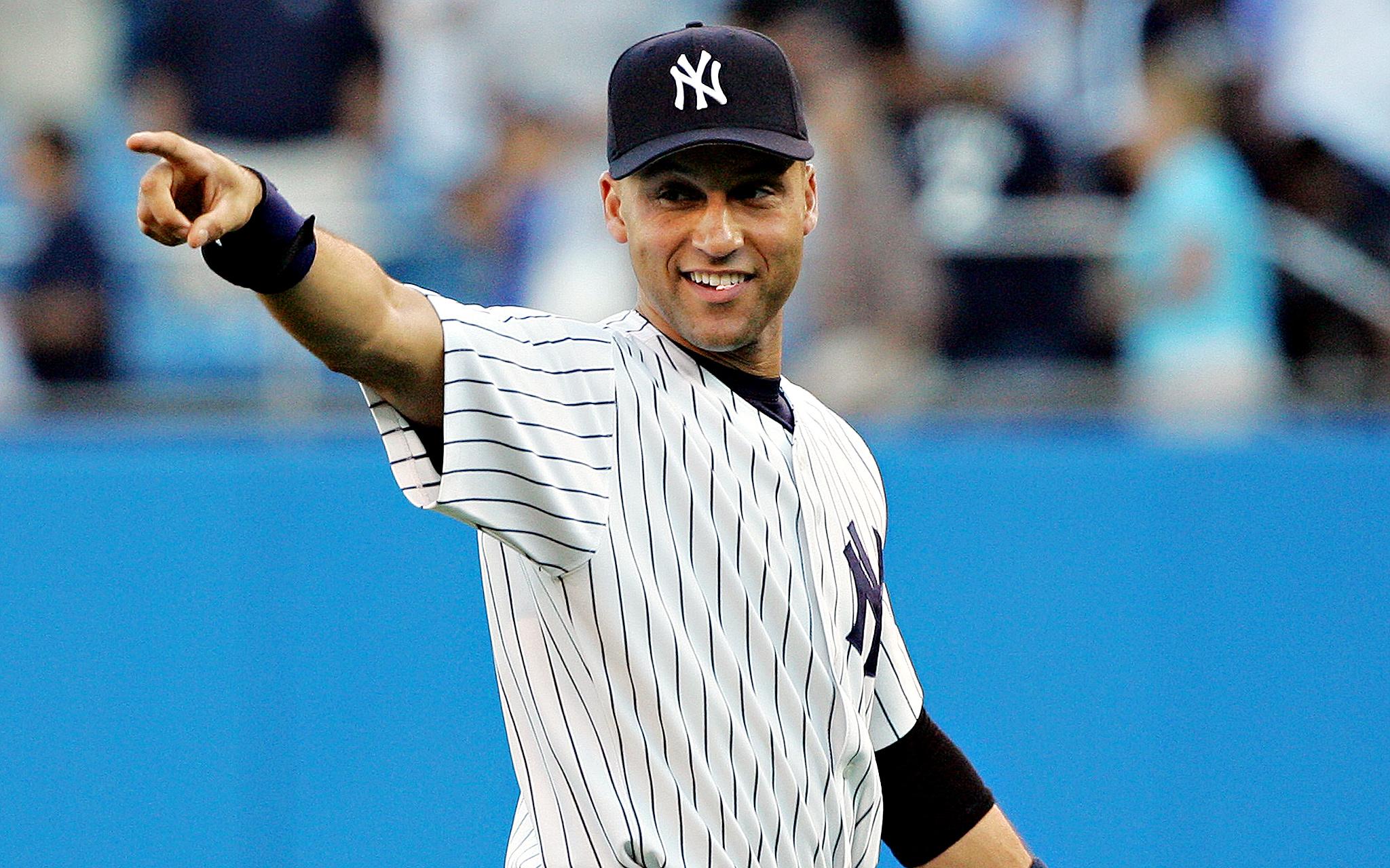 Derek Jeter, MLB, Yankees, Bronx, NYC