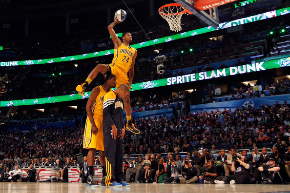 Paul George, Indiana Pacers, Dunk Contest, All Star, New Orleans
