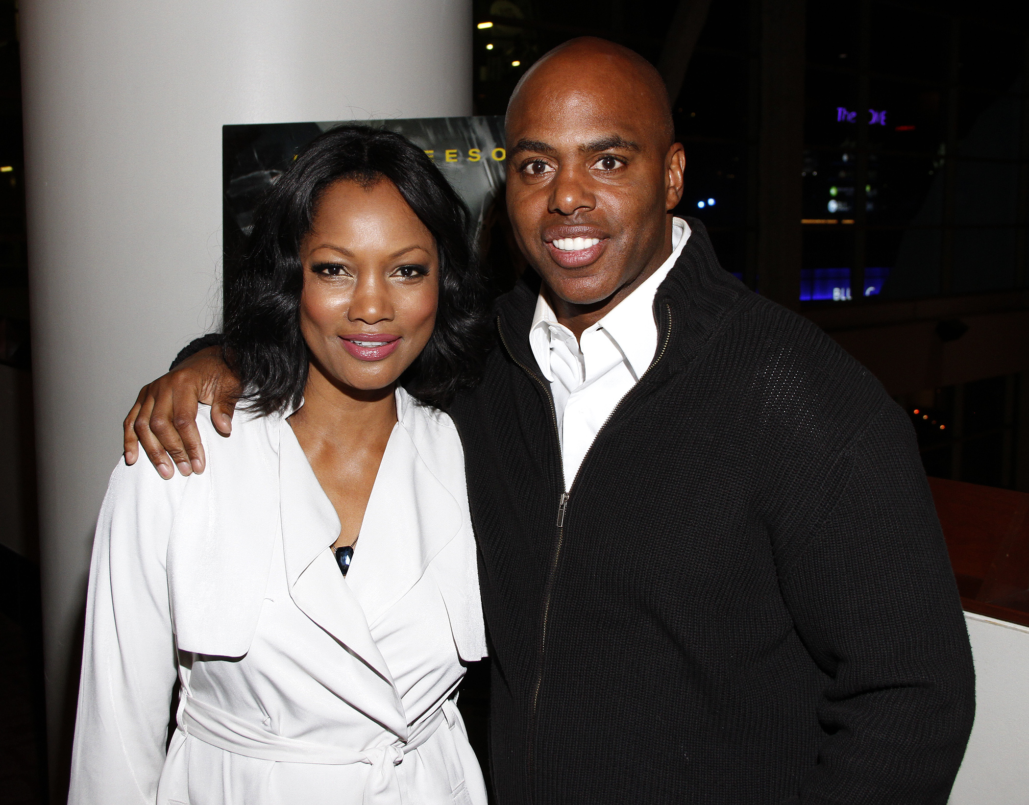 Garcelle Beauvais and Kevin Frazier