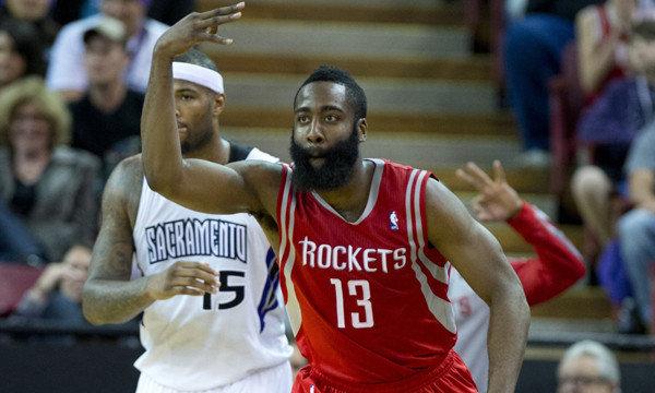 James Harden. Rockets, NBA, Sacramento, Houston
