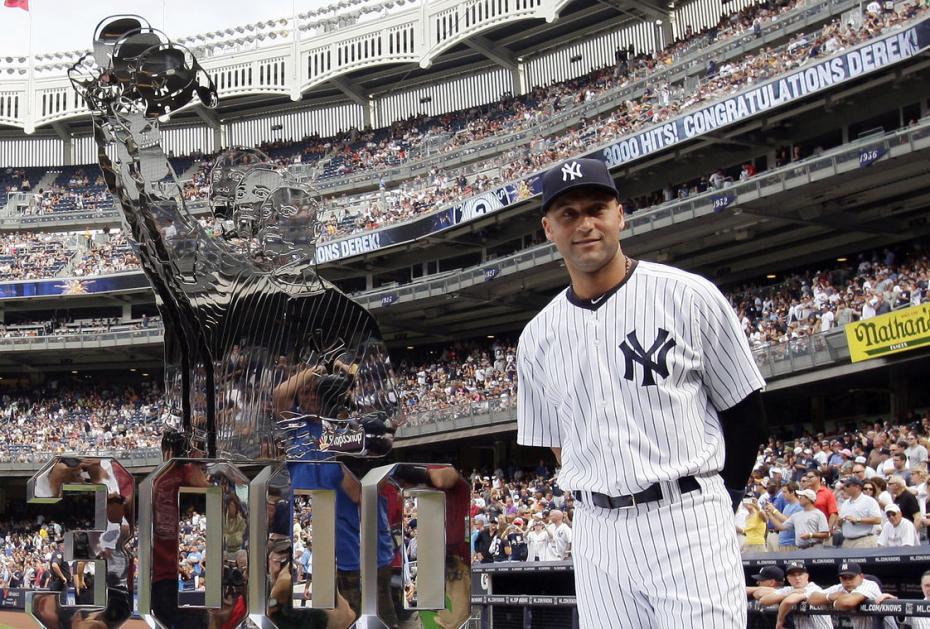 Derek Jeter, MLB, 3000, Yankees, Bronx