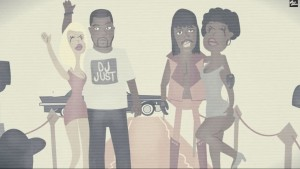 just blaze, rick james, animated, Opiyo Okeyo, hip hop