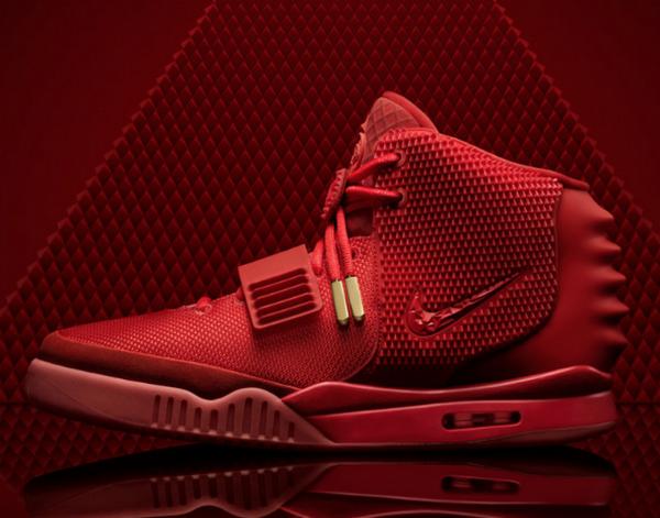 Nike Air Yeezy II's Red Octobers