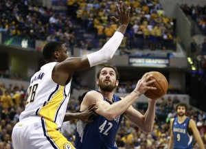 Kevin Love, TImberwolves, Pacers, Minnesota, NBA
