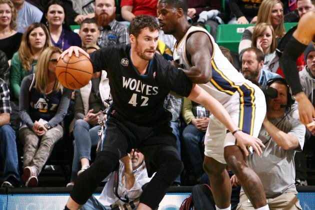Kevin Love, TImberwolves, Utah Jazz, NBA, Minnesota