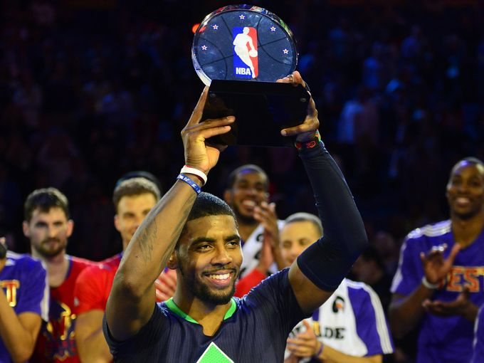 Kyrie Irving, MVP, All-Star, New Orleans, Cavs