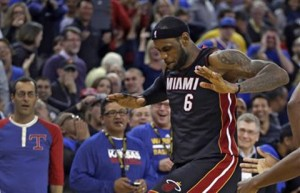 LeBron James, Miami Heat, Warriors, NBA, All-Star