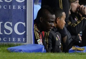 Mario Balotelli crying