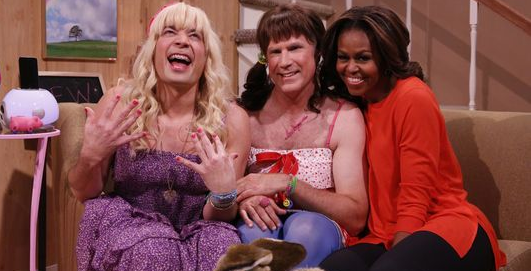 Michelle Obama, Jimmy Fallon, Tonight Show, Will Ferrell, First Lady