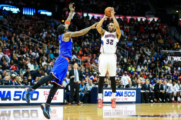 Mike Scott, NBA, Hawks, Knicks, Atlanta