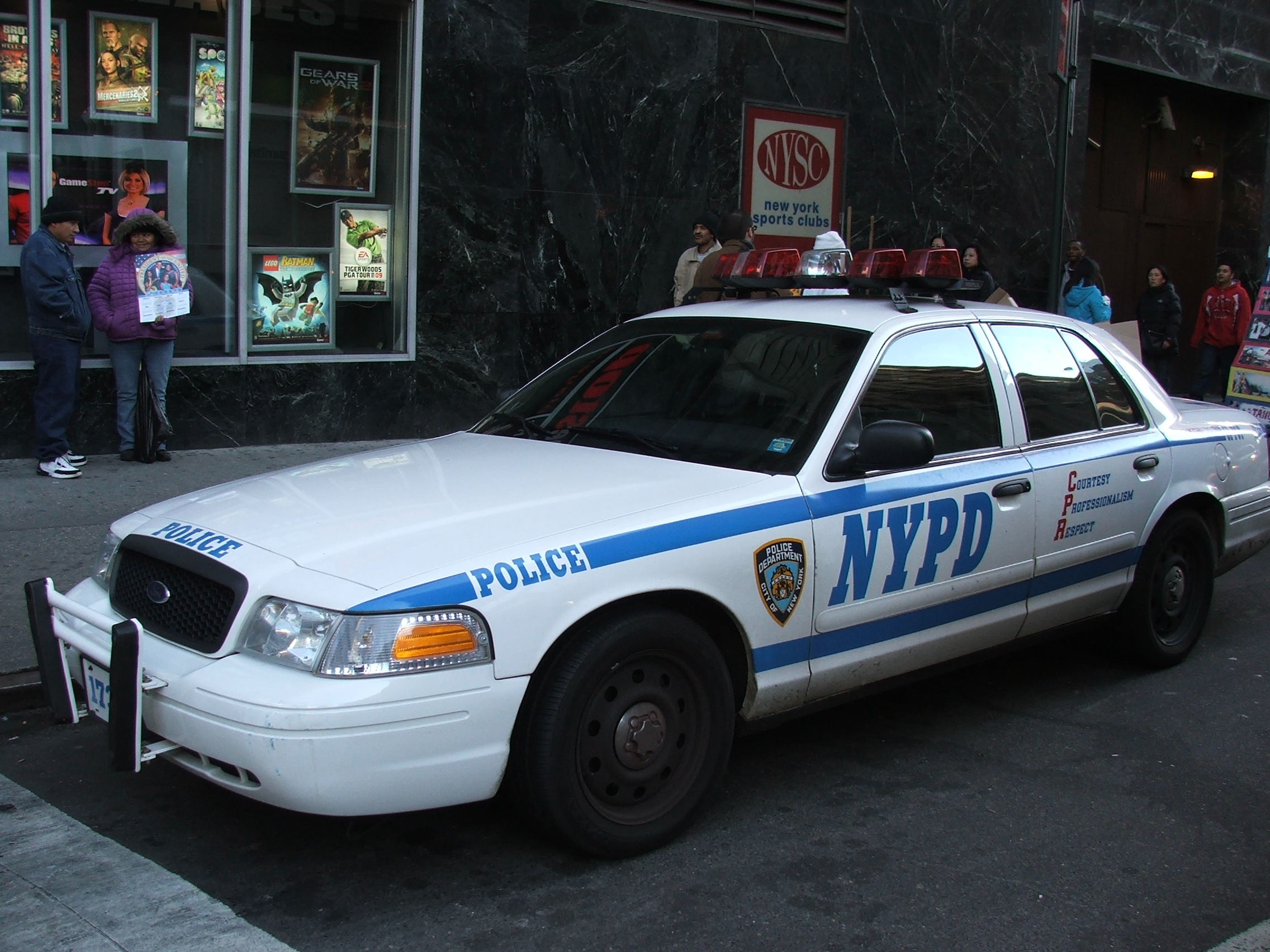 NYPD Police car 3278