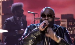 Rick Ross, Tonight Show, Mastermind, Jimmy Fallon, The Roots