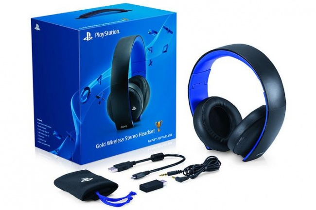 SCOOP playstation gold wireless headset 650x0