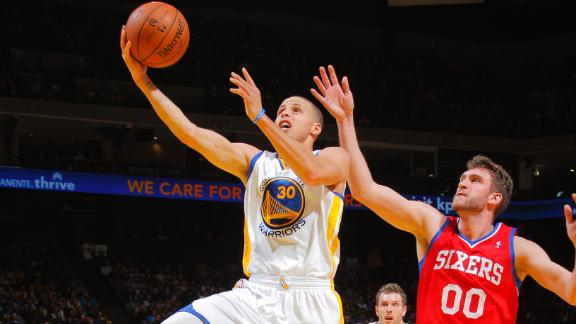 Steph Curry, Warriors, Sixers, Golden State, NBA