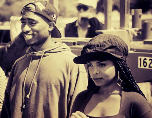 Tupac and Janet Jackson Poetic Justice movie janet jackson 31853708 500 389