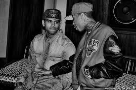 Tyga and Chris brown