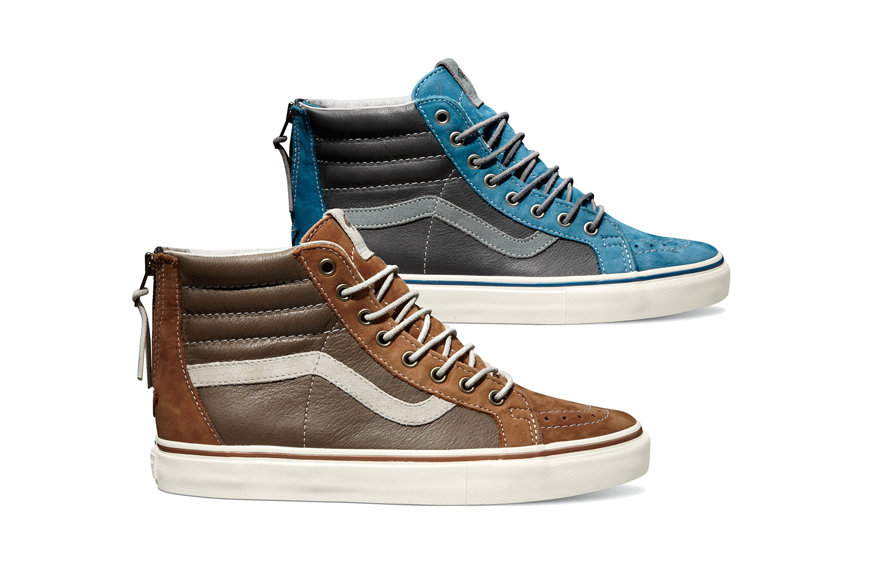 d1ad311e07 Sneaker Alert  Vault by Vans Sk8-Hi Reissue Zip LX Colorways for Spring 2014
