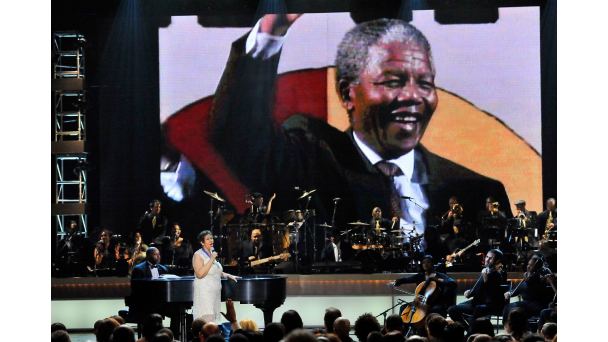 Nelson Mandela, Aretha Franklin, BET Honors