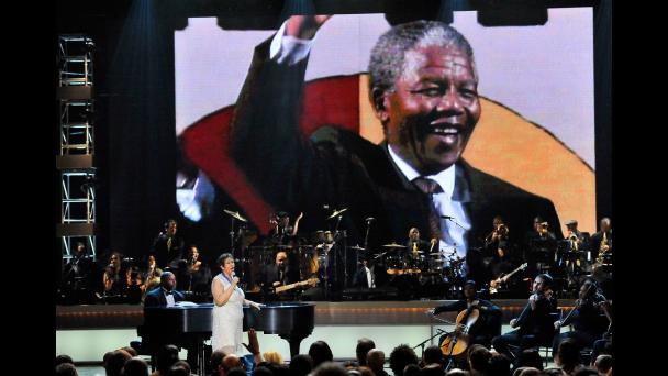 Nelson Mandela, Aretha Franklin, BET Honors