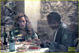 Beyonce's birthday dinner