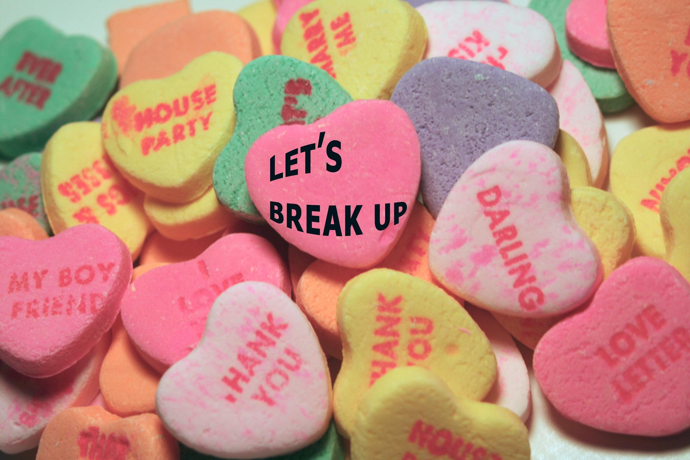 Songs to get over breakups