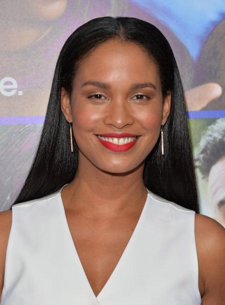 956a90ab4e1c Actress Joy Bryant arrives at The Pan African Film & Arts Festival Premiere  of Screen Gems