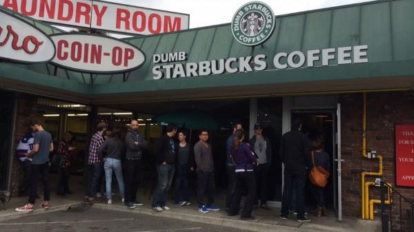 dumb starbucks, starbucks, coffee, la, los, angeles