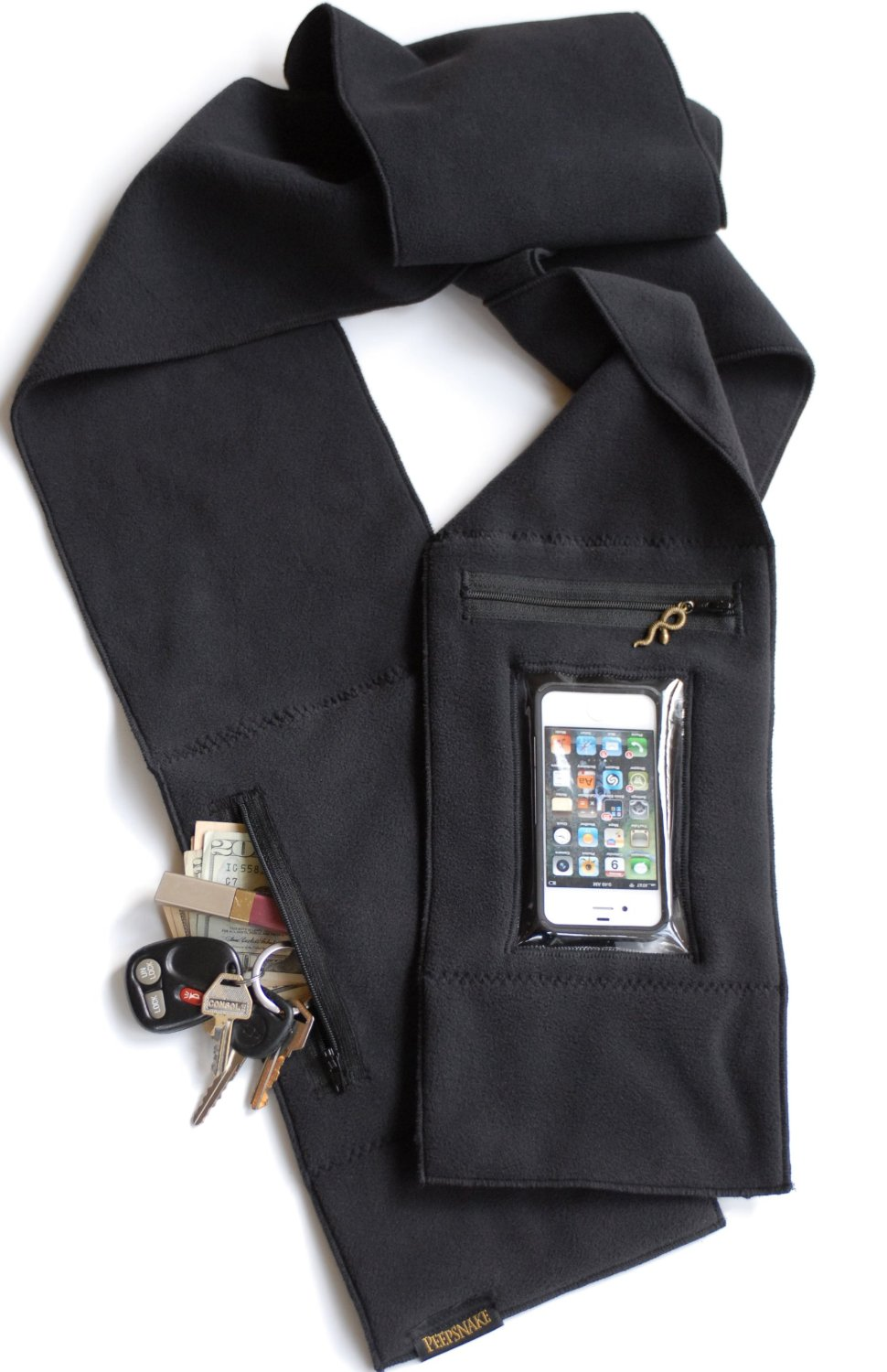 iphone scarf, the source magazine, technology, iphone accessories, fashion, nyfw,