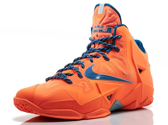 "Sneaker Alert: Nike LeBron 11 ""Atomic Orange"" | The Source"