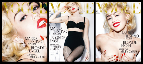 Miley cyrus german vogue 2014 photoshoot 3