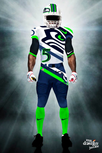Nfl Uniforms Awesome 9 The - Source Junkie Design Creates Concept 6 Of Mr Page adbedcdabdd|How Does The Ref Miss That?