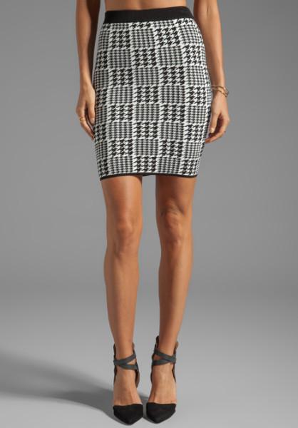 torn by ronny kobo black celine scottish plaid skirt in black product 1 13192821 771825519 large flex