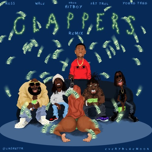 wale clappers remix