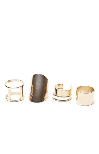 With Love From CA Multi Gold Ring Pack: $10.95