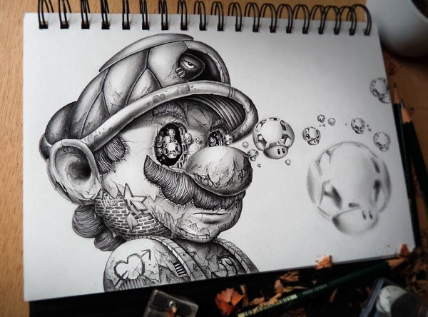 You Won T Believe It But These Detailed Drawings By Pez