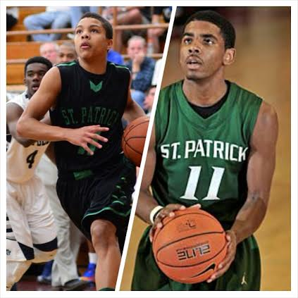 dd777fc2e88 THE SCOOP WITH  SCOOPB – St. Patrick HS s Bryce Aiken Leans on Cavs Kyrie  Irving as Mentor