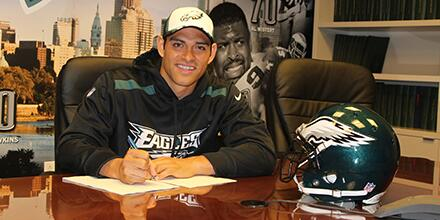 Mark Sanchez, football, philadelphia, eagles, contract