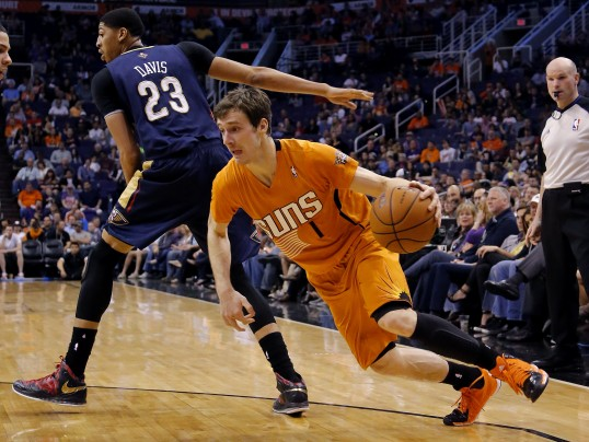 Goran Dragic, NBA, Phoenix, Suns, Pelicans