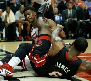 LeBron James, Jimmy Butler, NBA, Bulls, Heat