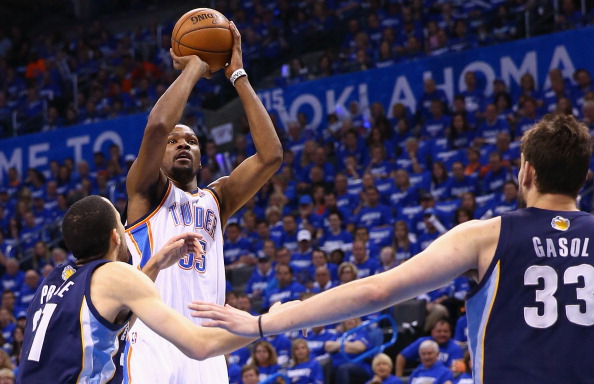 Kevin Durant, NBA, Thunder, Oklahoma City, Grizzlies