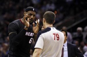 LeBron James, Miami Heat, Spurs, NBA, San Antonio