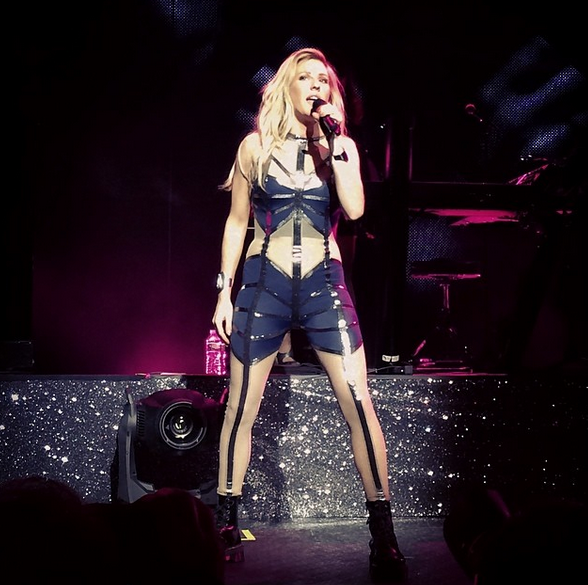 Recap Ellie Goulding Kicks Off US Tour At Madison Square Garden
