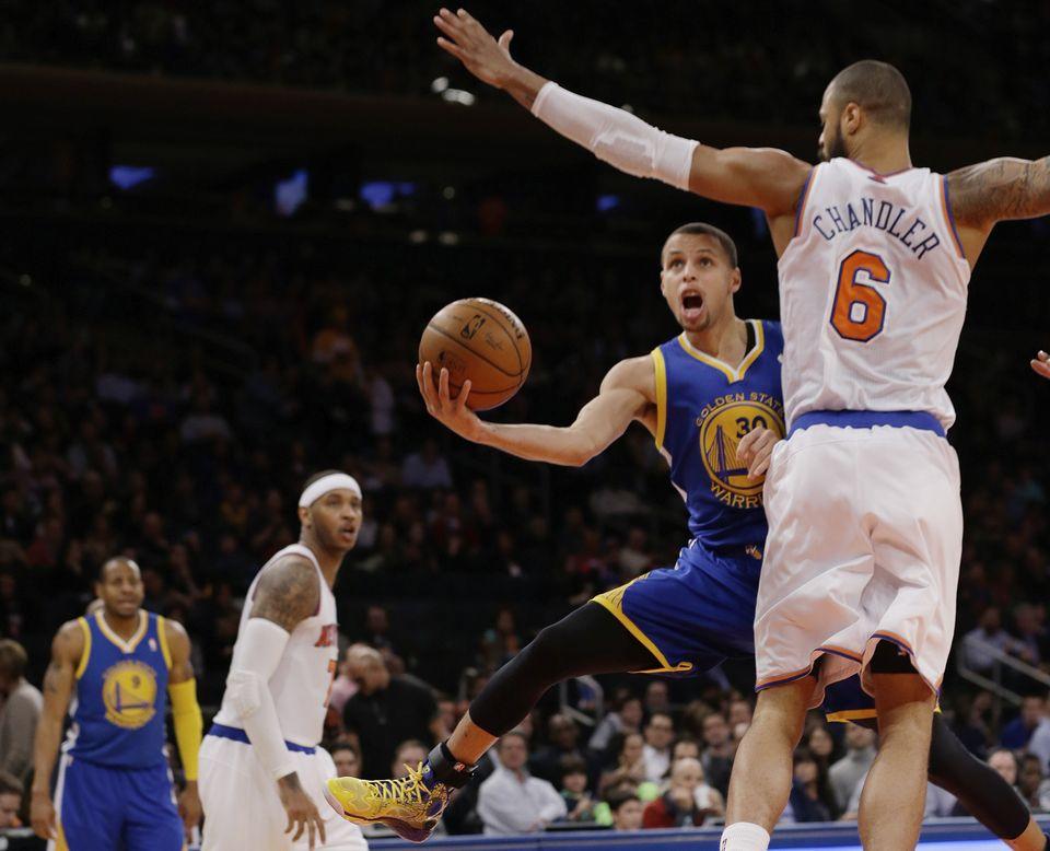 Stephen Curry, Warriors, NBA, MSG, Knicks