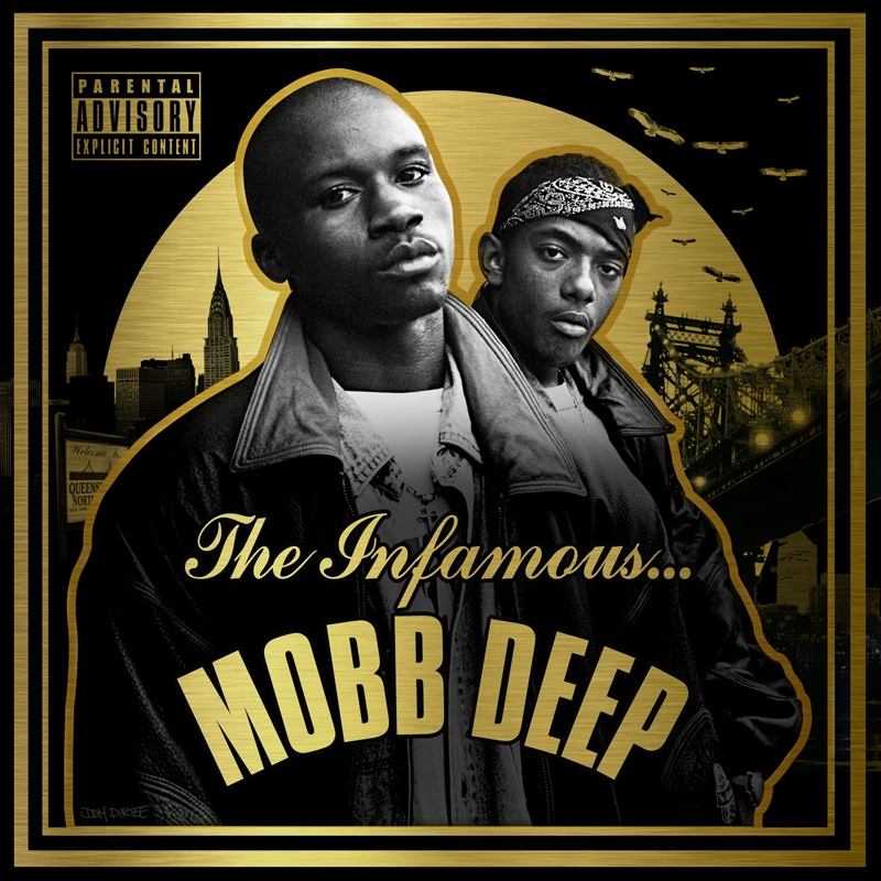 The Infamous Mobb Deep Album Cover